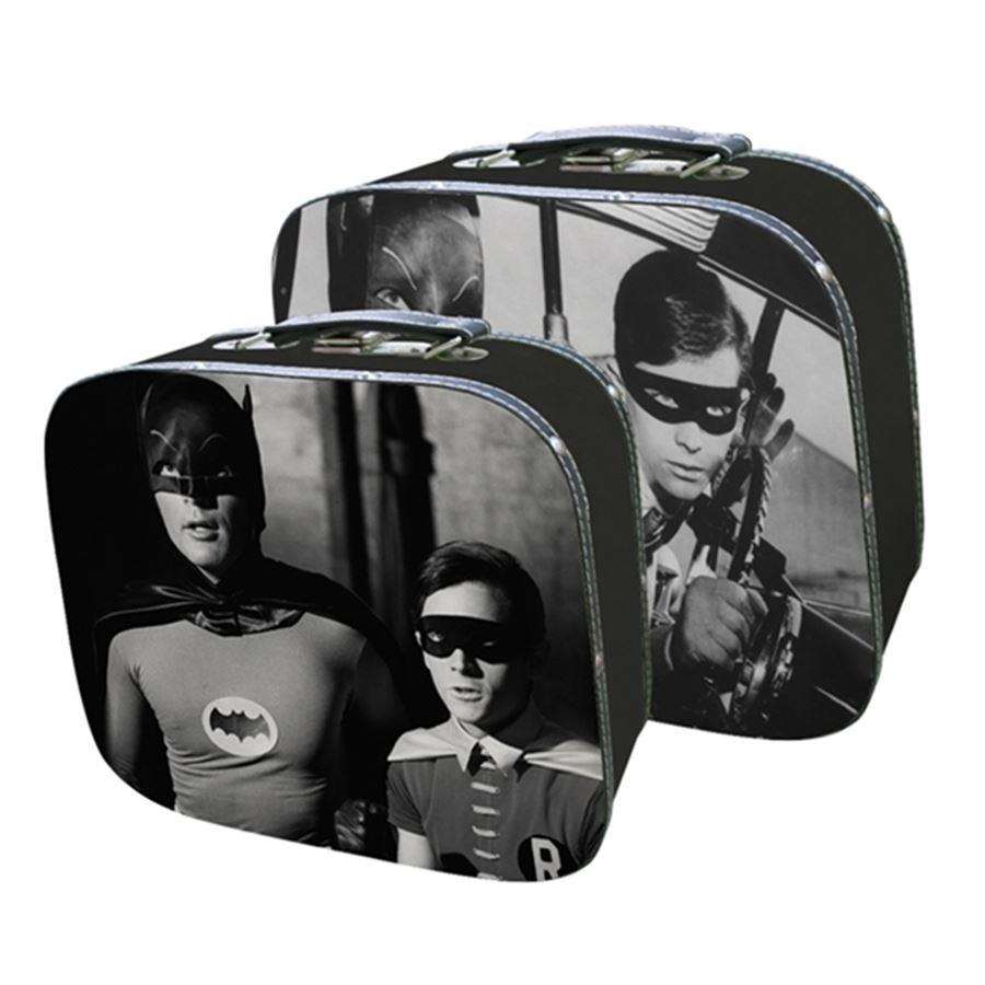 Conjunto Maletas Batman e Robin - Urban