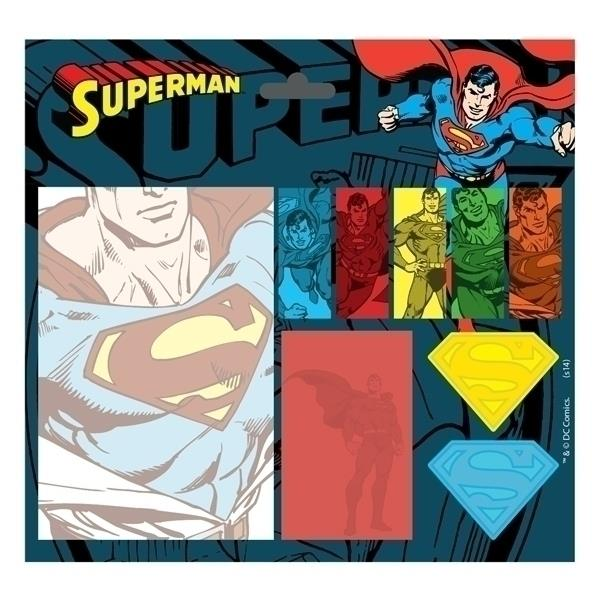 Conjunto Post It Superman