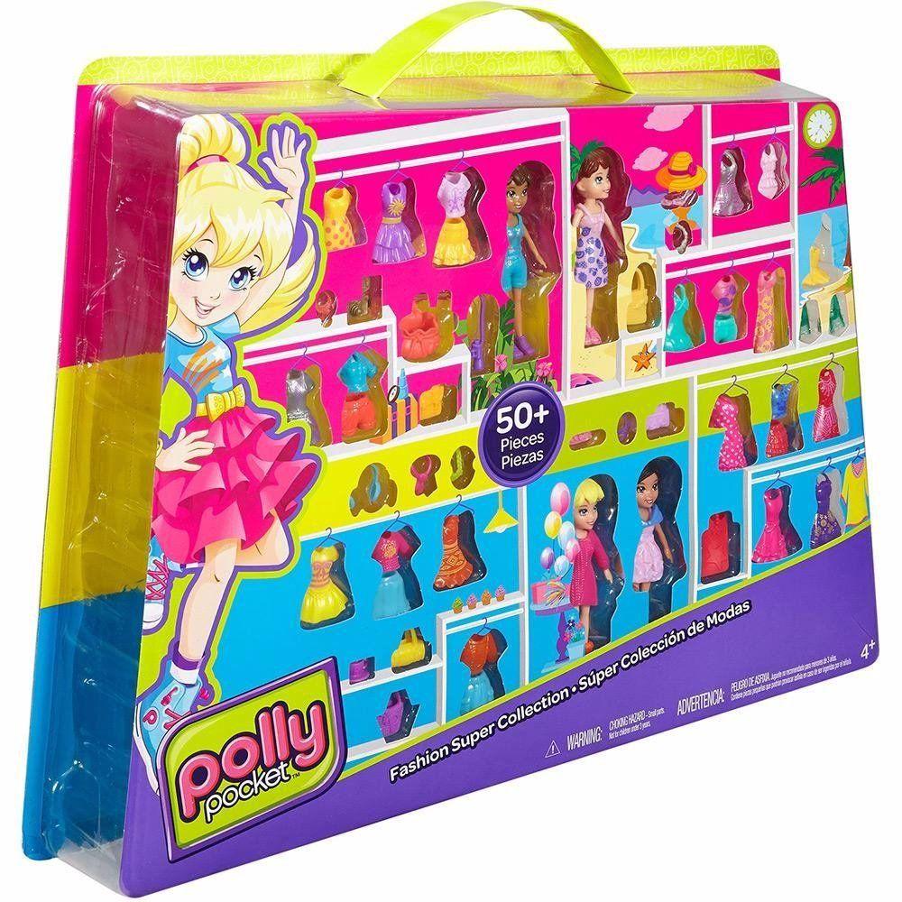 Conjunto Super Fashion: Polly Pocket - Mattel