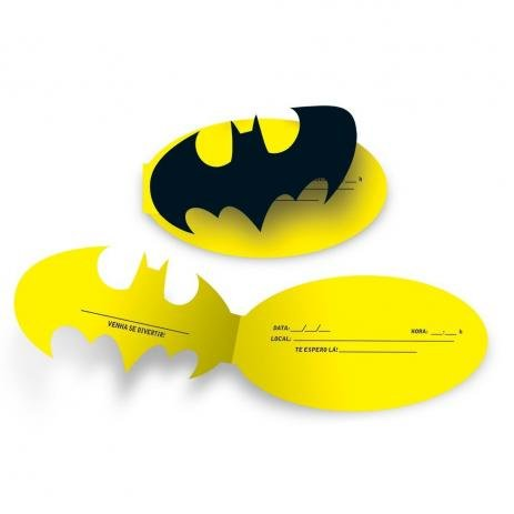 Convite Batman Geek - Festcolor