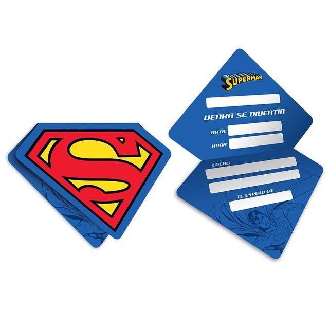 Convite Superman - Festcolor