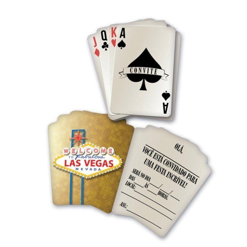 Convite: Vegas - Festcolor