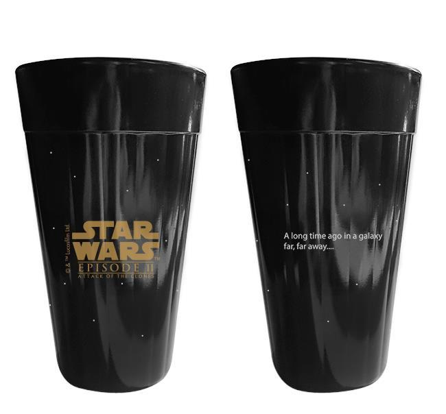 Copo Americano Star Wars Coleção Sagas I e II - NF