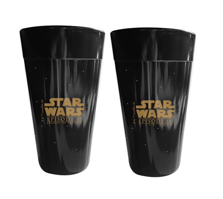 Copo Americano Star Wars Coleção Sagas III e IV - NF