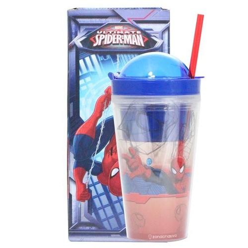 Copo Canudo 2 em 1 Spider Man - Zona Criativa