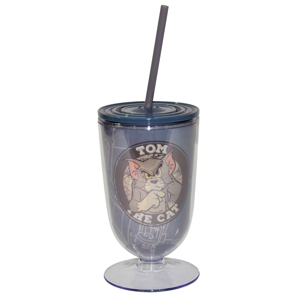 Copo Canudo Hb Tom And Jerry - Urban