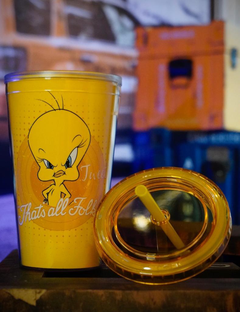 Copo Canudo Piu Piu Tweety Thats All Folks: Looney Tunes - Metropole