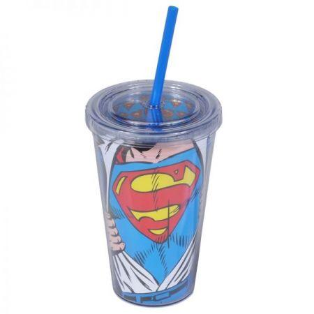 Copo Canudo Superman - DC Comics