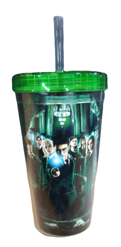 Copo Com Canudo Armada de Dumbledore: Harry Potter - 450ml