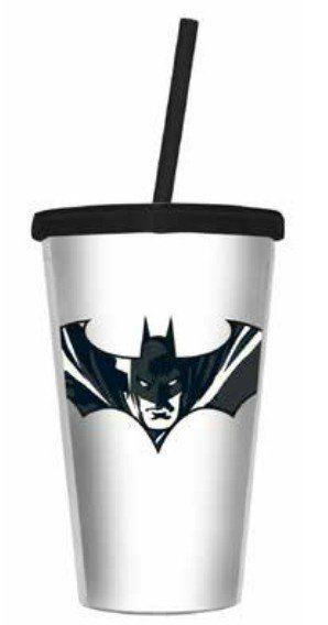 Copo com Canudo Batman: DC Comics - 500ML