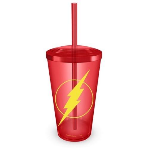Copo com Canudo Flash Logo - BandUP!