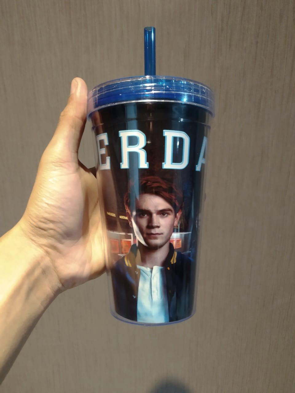 Copo Com Canudo: Riverdale (Personagnes) - 450ml