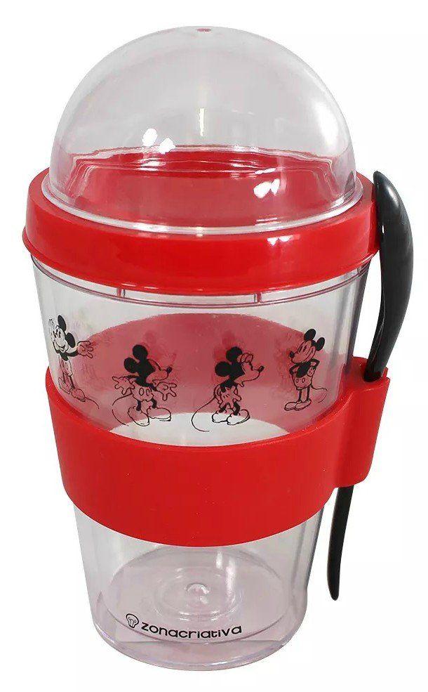 Copo com Colher Mickey Mouse: Disney