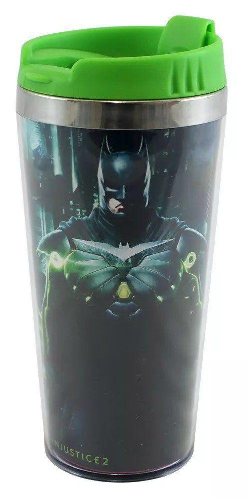 Copo com Tampa Batman: Injustice 2 (450ML)