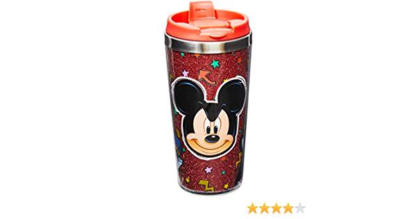 Copo com Tampa Mickey Mouse: Mickey Mouse Vermelho 450ML - Disney