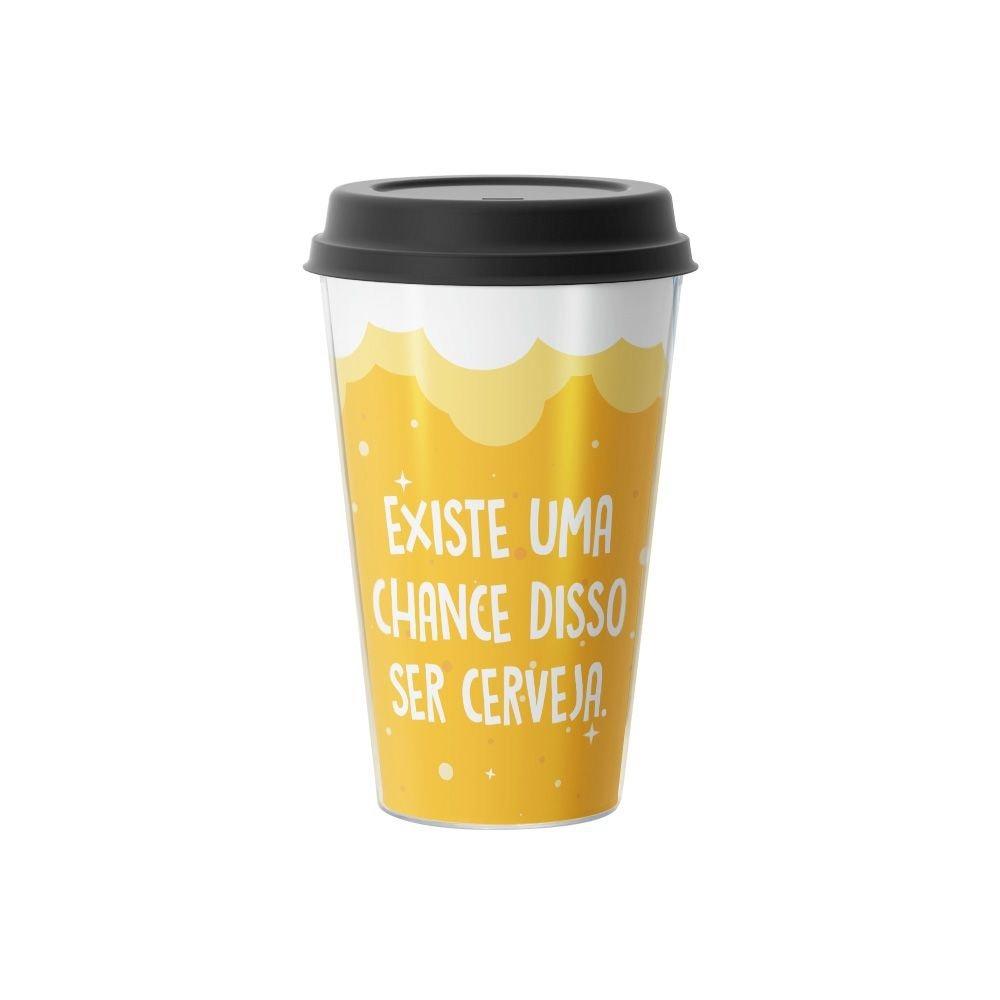 Copo de Café Existe Uma Chance Disso Não Ser Cerveja  500 ml - EV