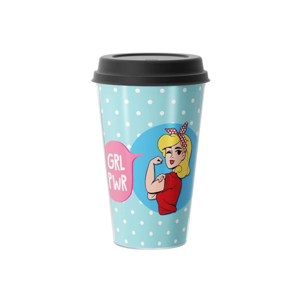 Copo de Café Girl Power  500 ml - EV