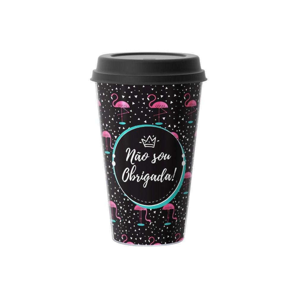 Copo de Café Não Sou Obrigada 500 ml - EV