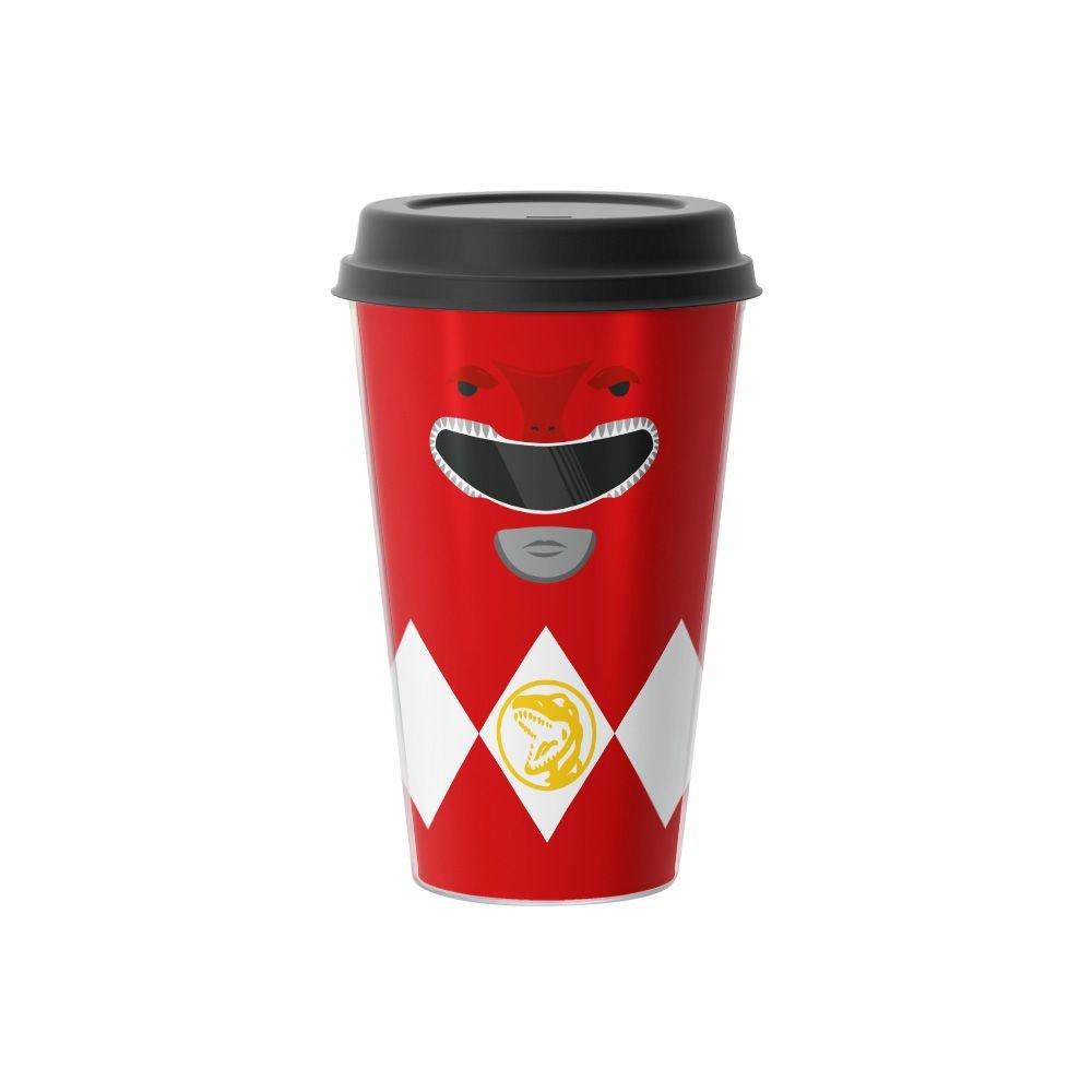 Copo de Café Power Ranger Vermelho 500 ml - EV