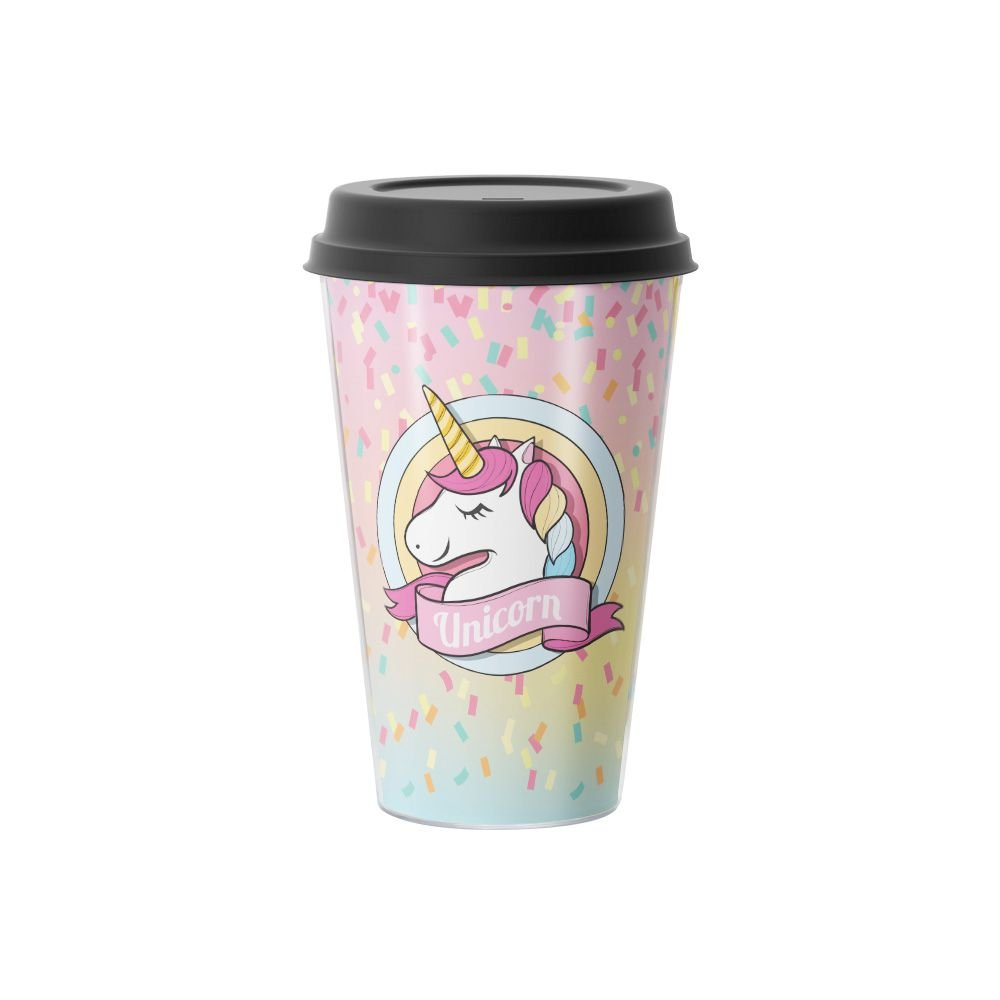 Copo de Café Unicórnio Unicorn  500 ml - EV