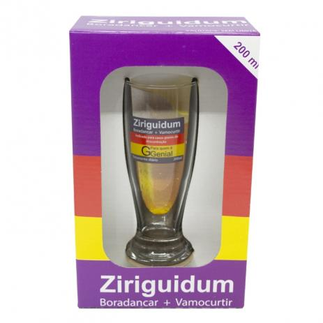 "Copo de Chopp ""Ziriguidum"" (200ML)"