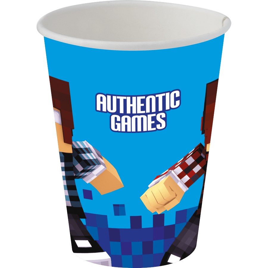 Copo de Papel: Authentic Games 200ml - Festcolor