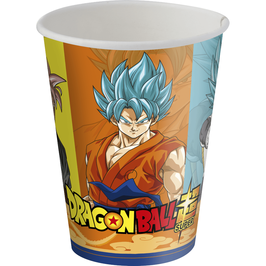 Copo de Papel: Dragon Ball 200ml - Festcolor