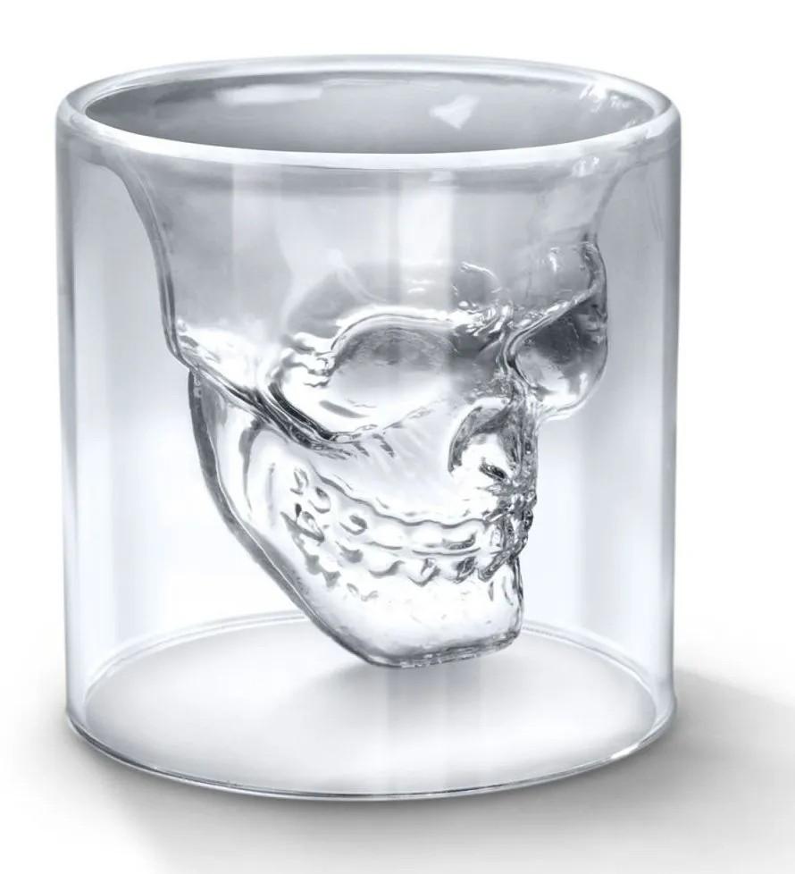 Copo de Vidro: Crystal Skull Caveira Grande (150ML) - Doomed