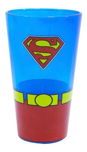 Copo de vidro Super Homem 450ML - DC
