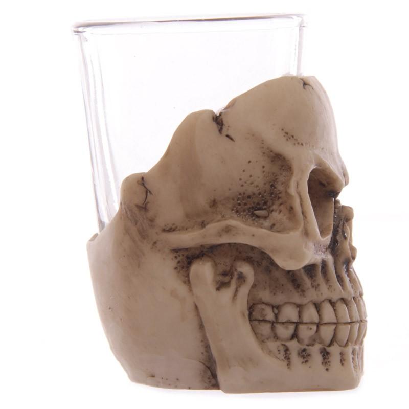 Copo Dose (shot) Caveira (Skull) (Set de 4 Peças)