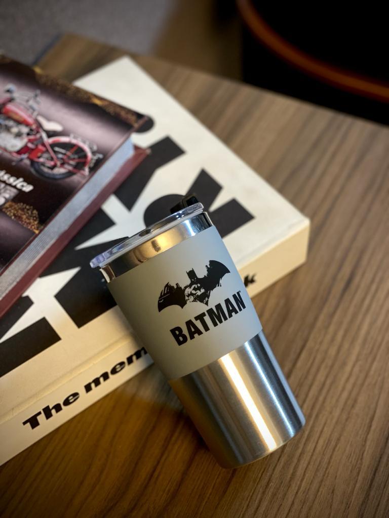 Copo Para Viagem Batman: Batman Dc Comics (450ml)
