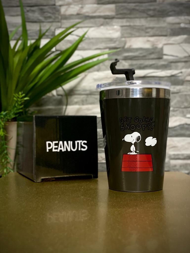 Copo Para Viagem ''Get Going, Snoopy!'': Peanuts (300ml)