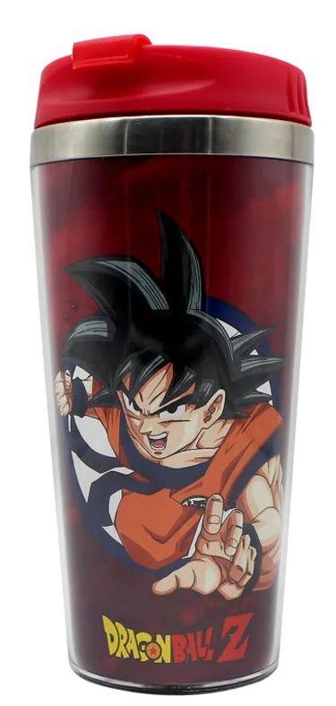 Copo para Viagem Goku Rage: Dragon Ball Z - 450ml