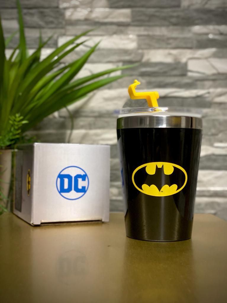 Copo Para Viagem Logo Batman: Batman Dc Comics (300ml)