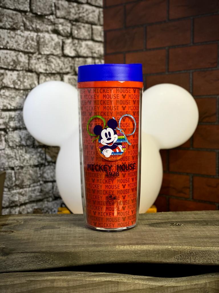 Copo para Viagem Mickey Mouse (Anos 90): Disney - 500ml