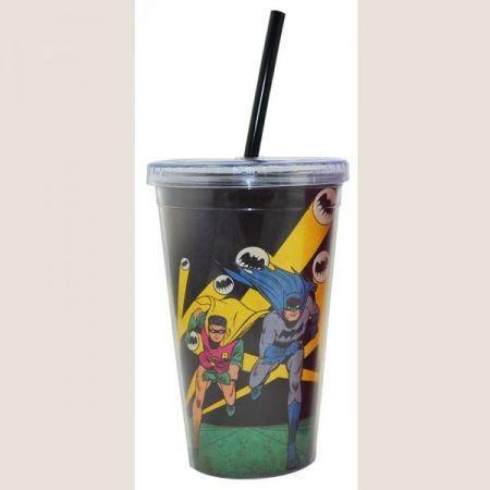 Copo Plástico Batman e Robin - DC Comics