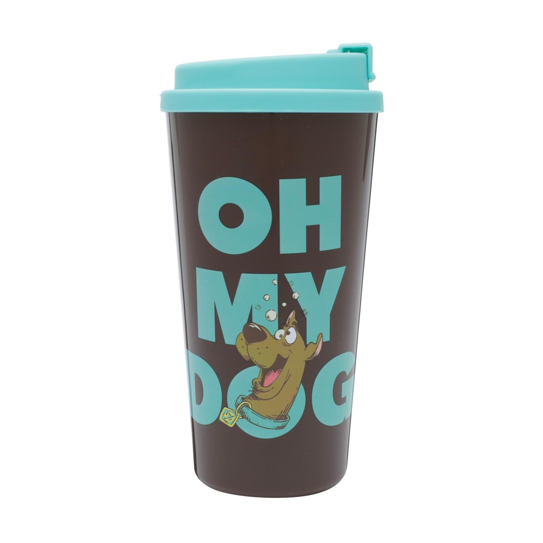 Copo Plástico Marrom: Scooby Doo My Dog - Urban
