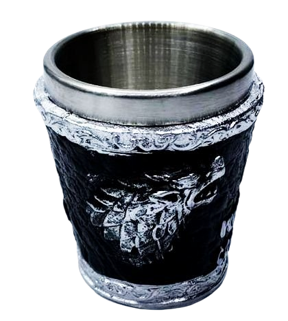 Copo Shot Casa Stark (Winter Is Coming): Game of Thrones - 60ML