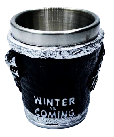 Copo Shot Casa Stark (Winter Is Coming): Game of Thrones - 60ML