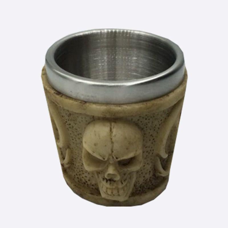 Copo Shot Esqueleto Caveira