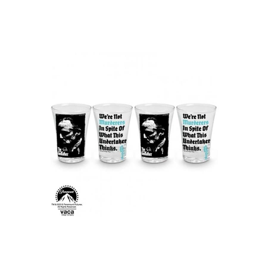 Copo Shot: The Godfather Murderers 4 peças - VDesign