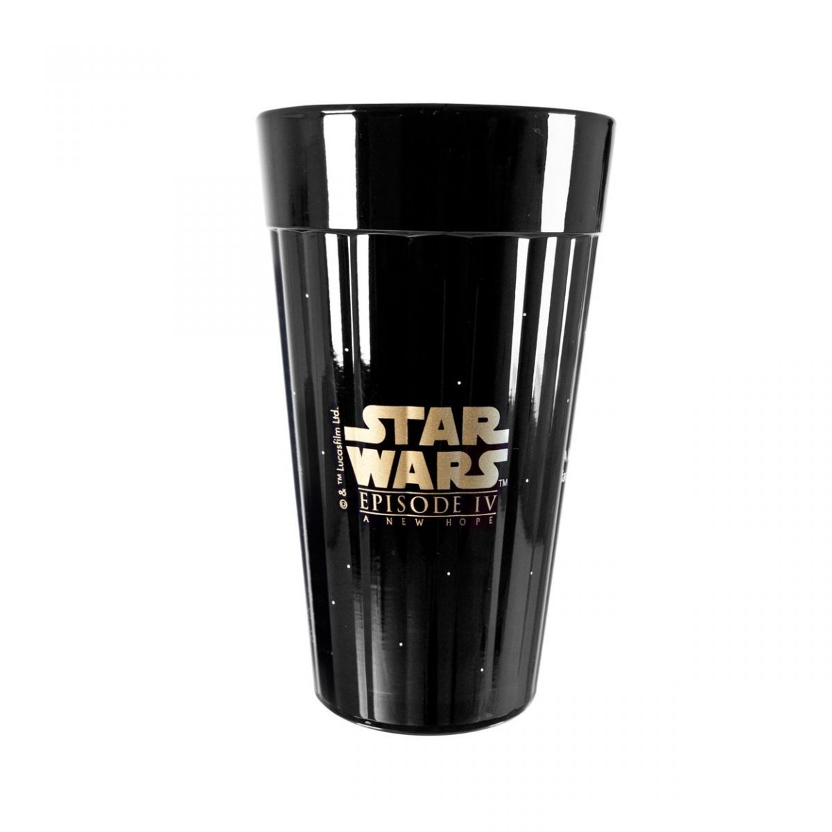 Copo Star Wars: Preto -  Episode IV A New Hope