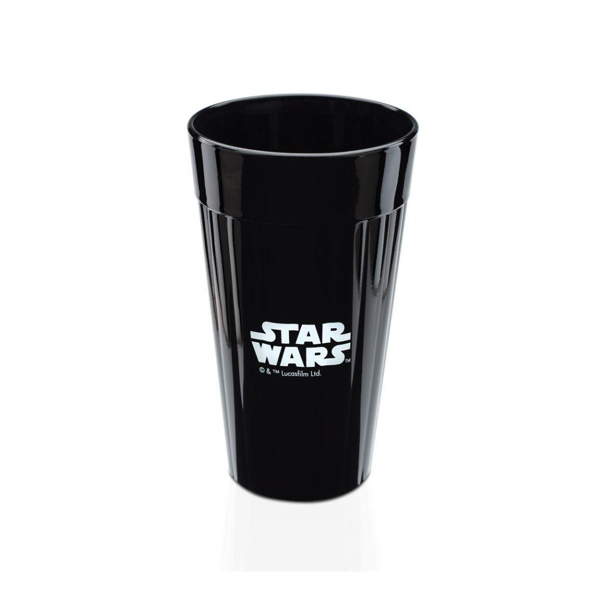 Copo Star Wars: Preto - Logo.