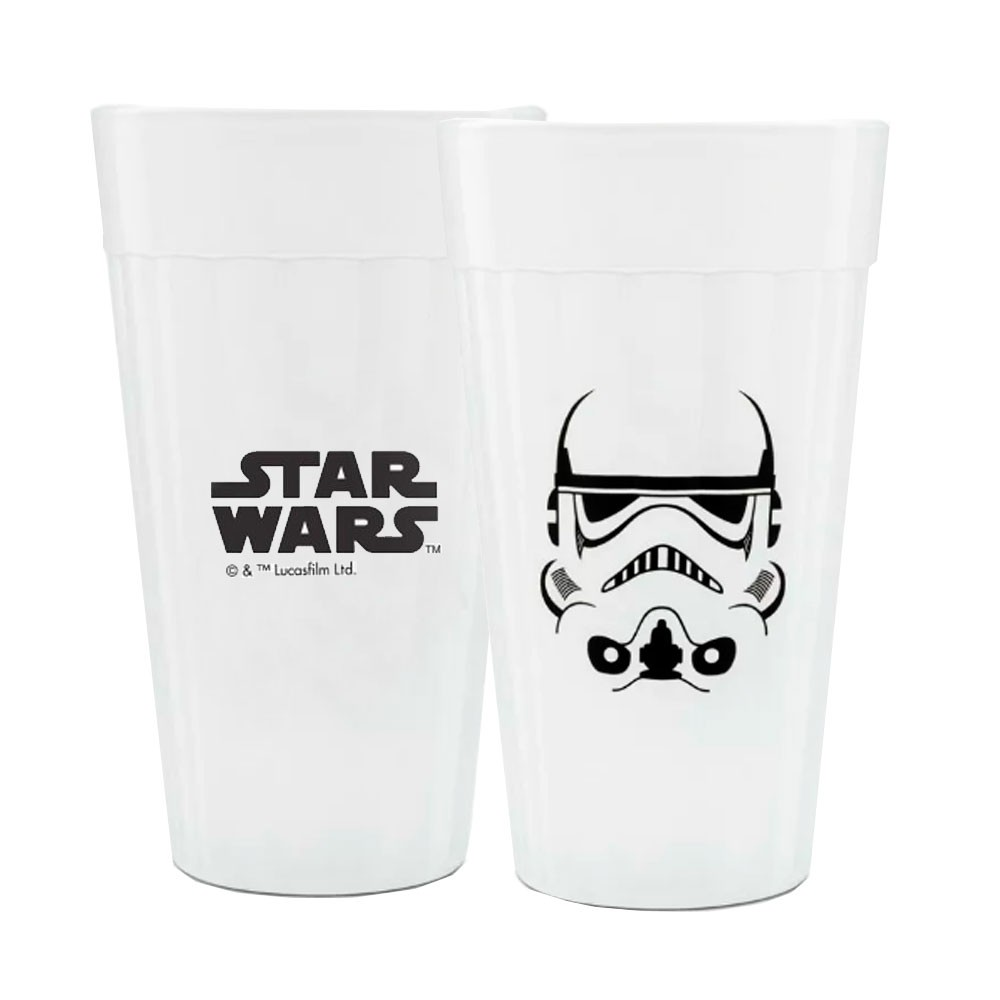 Copo Stormtrooper: Star Wars Branco