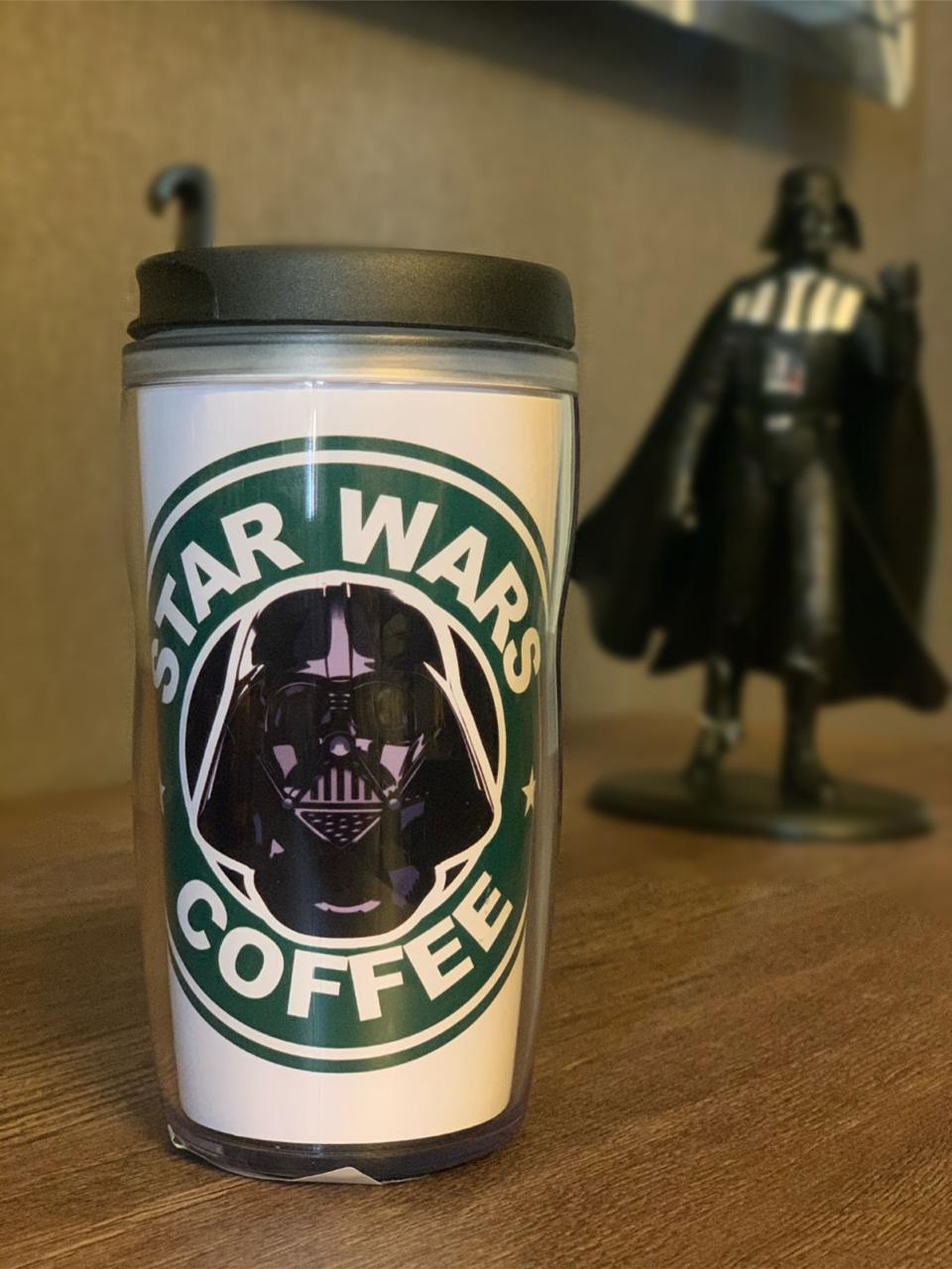 Copo Térmico Darth Vader (Star Wars Coffee): Star Wars - (350ML)