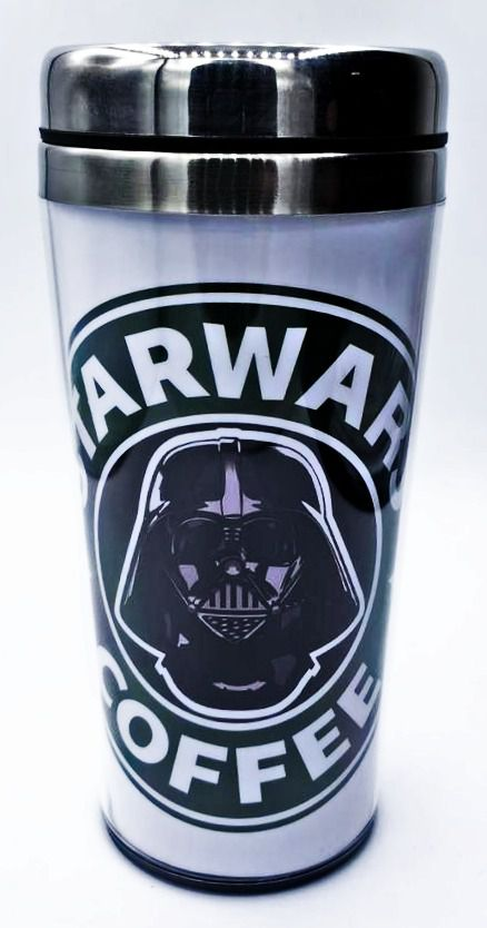 Copo Térmico Darth Vader (Star Wars Coffee): Star Wars - (450ML)