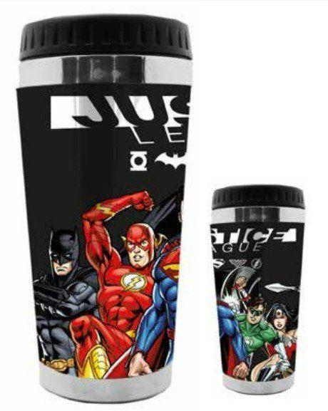 Copo Térmico Liga da Justiça (Justice League): DC Comics - (500ML)