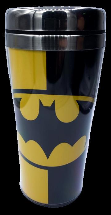 Copo Térmico Logo: Batman (2 Cores) - (450ML)