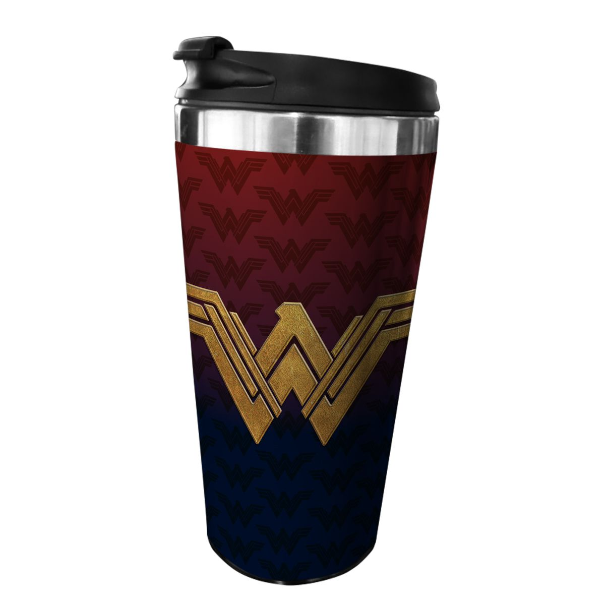 Copo Térmico Logo Mulher-Maravilha (Wonder Woman): DC Comics - (500ML)