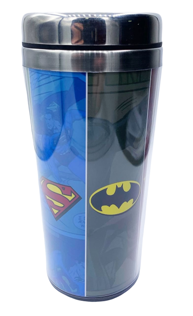 Copo Térmico Logo Super-Heróis: Liga Da Justiça - Dc Comics (450ml)